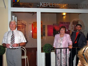 Otevření Kepplerova muzea 25.9.2009