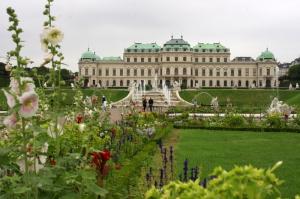 Shenbrunské zahrady jsou chloubou Vídně. Foto: Pavel Farkas.